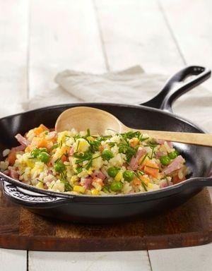 Stekt ris med skinke | www.greteroede.no | www.greteroede.no