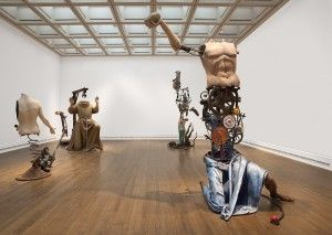 Installation of Saints Alive at the National Gallery, 2013 - This Steampunk Exhibit Invites You to Torture Famous Saints