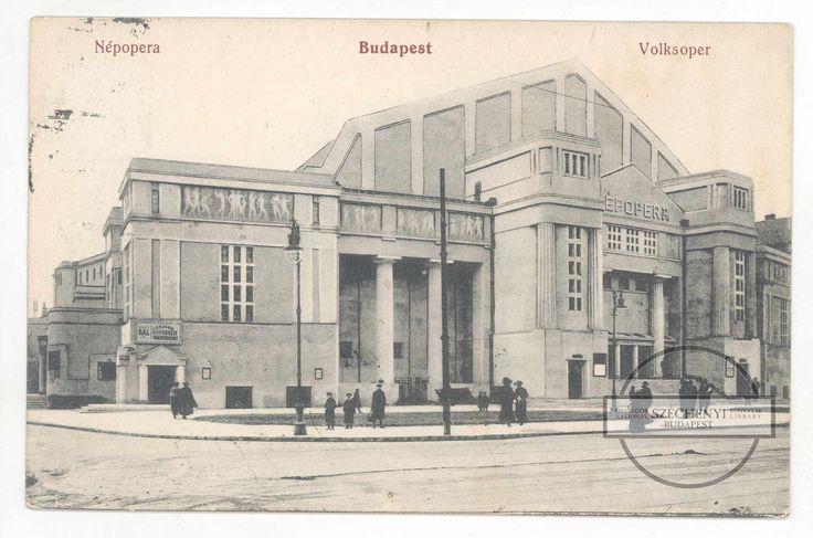 Népopera, a mai Erkel Ferenc Színház épülete - Forrás: www.dka.oszk.hu