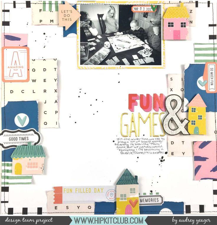 Fun and Games  #hipkitclub #january2018 #funandgames #fun