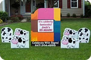 1000 Images About Birthday Lawn Signs On Pinterest Lawn