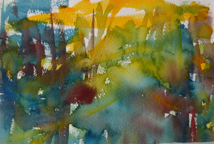 Autumn, Sirkkaliisa Virtanen, watercolor 2014