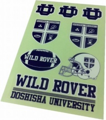 同志社大学 WILD ROVER  バラエティステッカー  ¥525