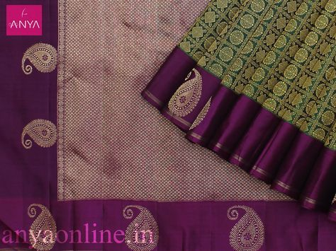 Kanchipuram Bridal Silk Saree Collection by Anya Online