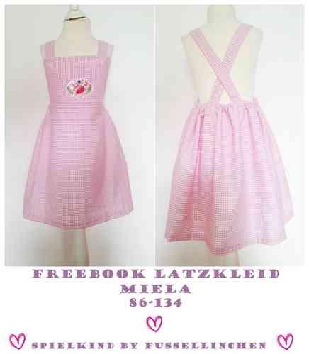 Latzkleid, Kleid nähen, 86-134