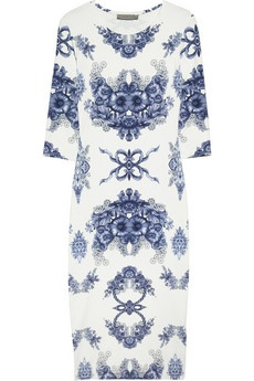 Preen: Stretchjersey Dresses, Cocktails Dresses, Preen Daisies Floral Prints, Floralprint Stretchjersey, Stretch Jersey Dresses, Daisies Dresses, Delicate Dresses, Floral Prints Stretch Jersey, Blue And White