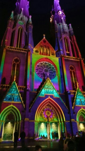 GLOW 2014 Eindhoven, the Netherlands. Catharina church.
