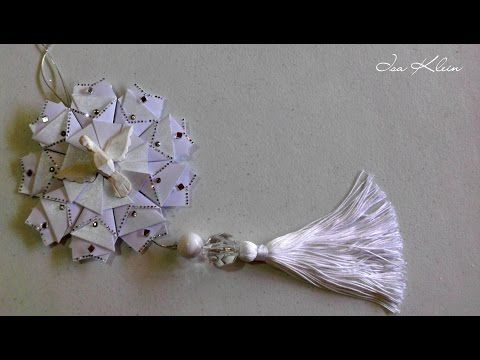 Tassel (franja) com nó invisível - Tassel with invisible knot - YouTube