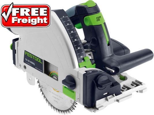 Festool TS55R Plunge Circular Saw + Guide Rail + Systainer (561655) #TS55-REBQ-PLUS-FS | Just Tools Australia | Tool Specialist in Power & Cordless Tools, Hand & Air Tools