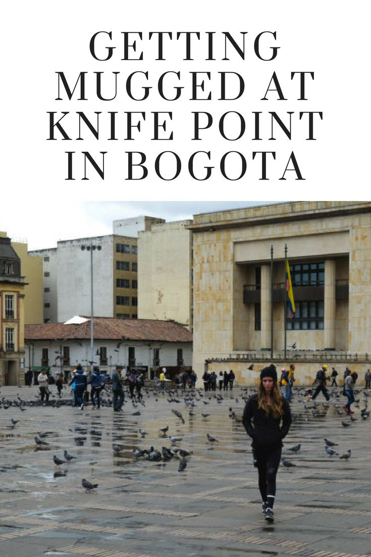 Bogota Colombia is chaotic and full of stories - this story doesn't happen to have a happy ending though.