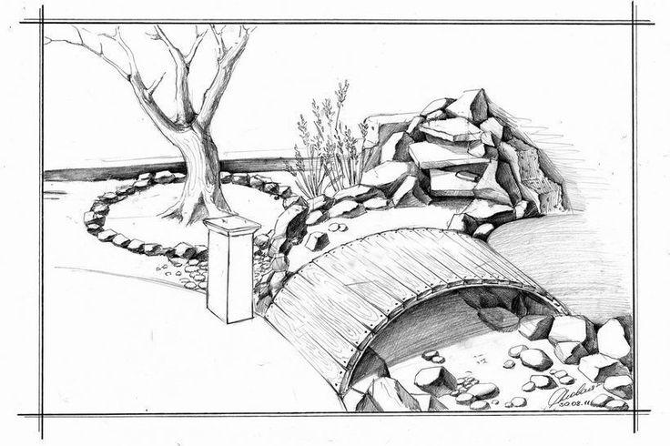 сухой ручей с мостиком - Поиск в Google