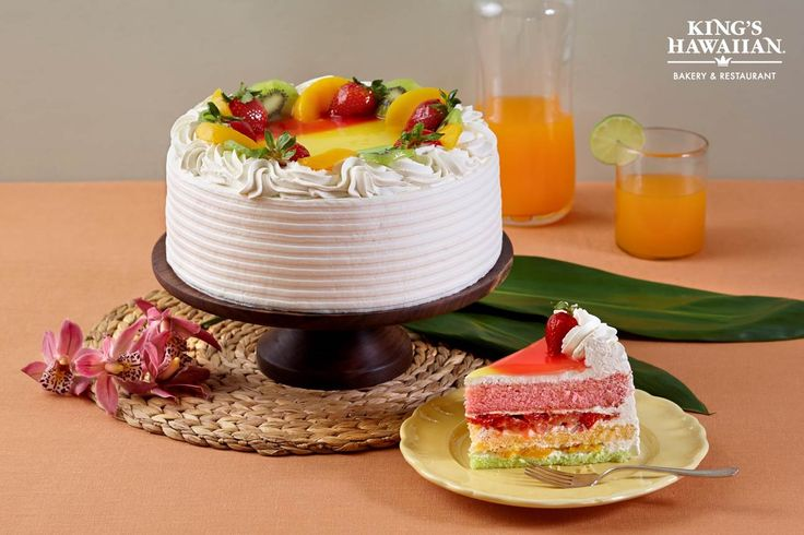 kings hawaiian cake king s hawaiian paradise delight freshfruit cake 5319
