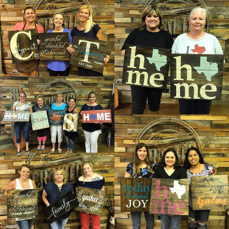 Such a super fun night!! So many different ladies night out gatherings having a blast! We can't thank you ladies enough for choosing us to celebrate your birthdays and nights away from the hubbies and munchkins. We really can't wait to have all of you back in the studio again soon!! #girlsnight #birthday #birthdaygirl #wood #crafts #woodworking #friscotx #byob #getcrafted