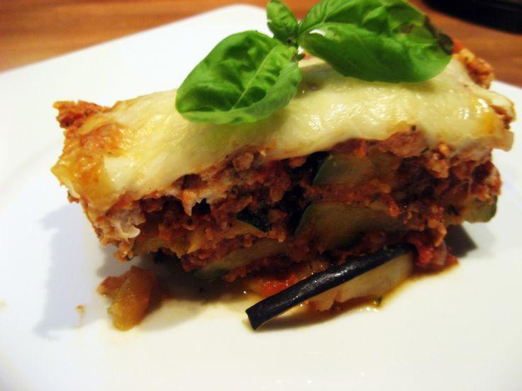 Feel Eat!: Lasagne LOW CARB bez makaronu