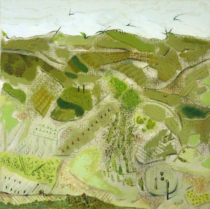 Tullio Pericoli | Landscape and Fragments, on Galleria dell'Incisione.