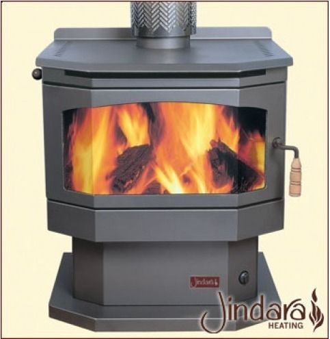 Stirling Freestanding Wood Heater, Solid Fuel Fireplaces