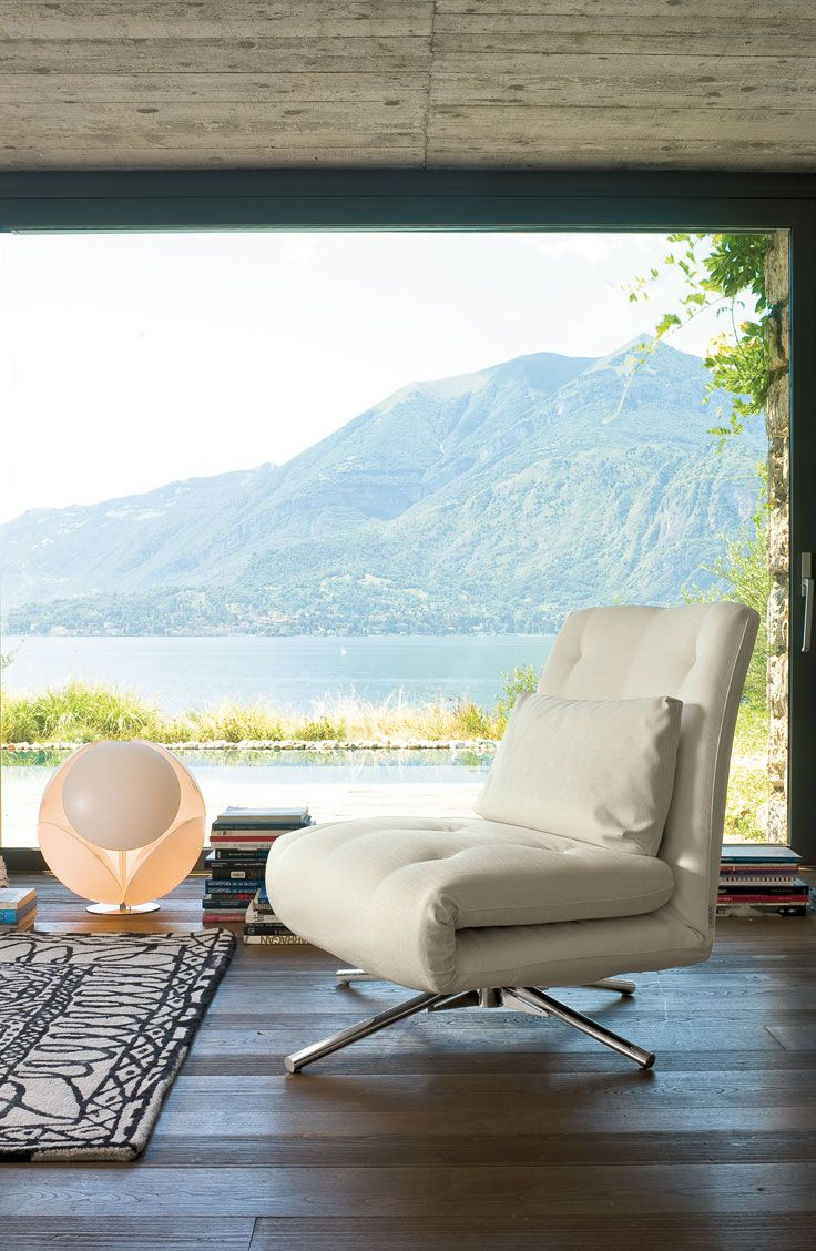 Benny By Bonaldo Is A Versatile Chair That Can Be Used As An Armchair Chaise