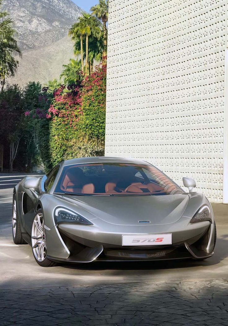 New McLaren 570S Coupé