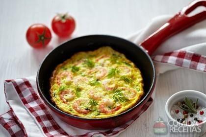 Receita de Omelete de camarão em receitas de ovos, veja essa e outras receitas…