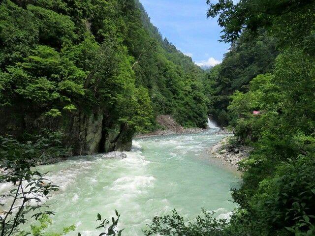 黒部峡谷 Kurobe Gorge, Toyama, Japan