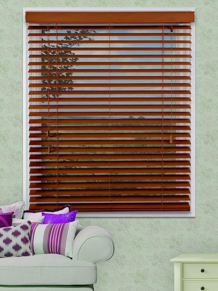 As 25 melhores ideias de venetian blinds wooden no - Cortinas improvisadas ...