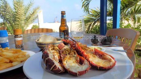 Travel and food: Best restaurants Santa Maria Cape Verde // bästa restaurangerna santa maria kap verde // mejores restaurantes santa maria cabo verde