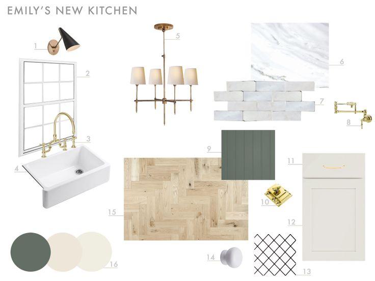 Our new kitchen design plan