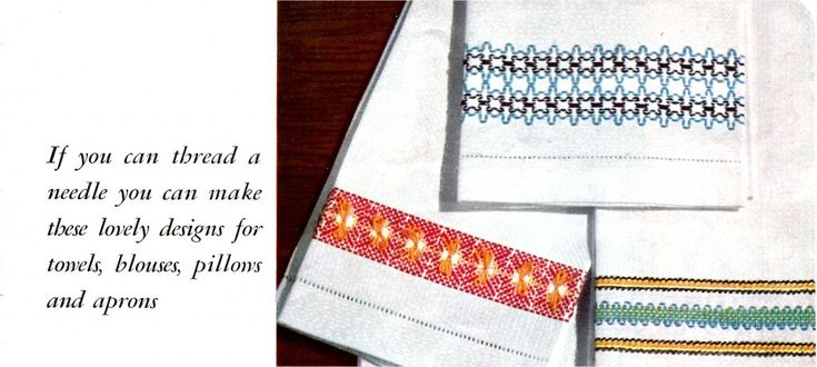 How to do Swedish Weaving Embroidery – VTNS Fan Freebie Friday
