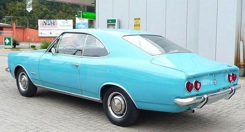 Opala antigo azul claro original