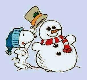 Snowman & snoopy