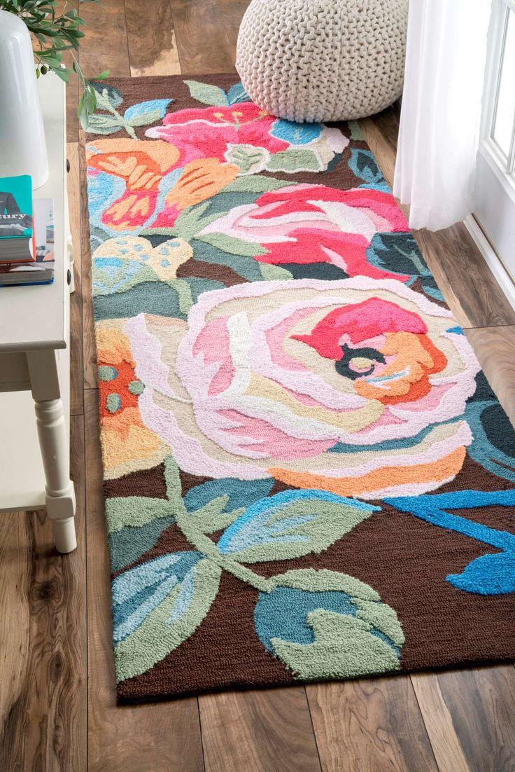 Best 25 Floral Rug Ideas On Pinterest Girl Nursery Rugs