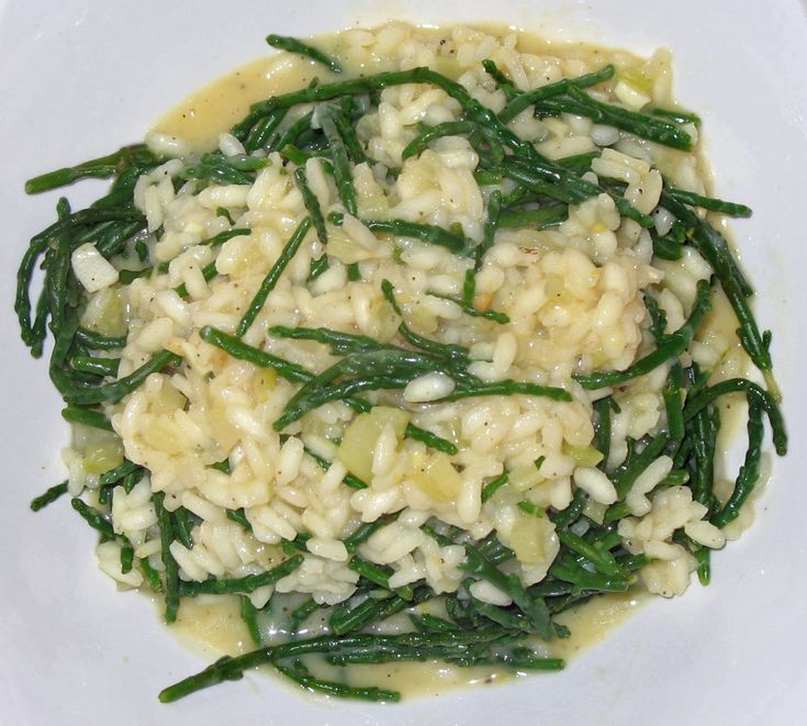 The Happy Housewife: Samphire Risotto
