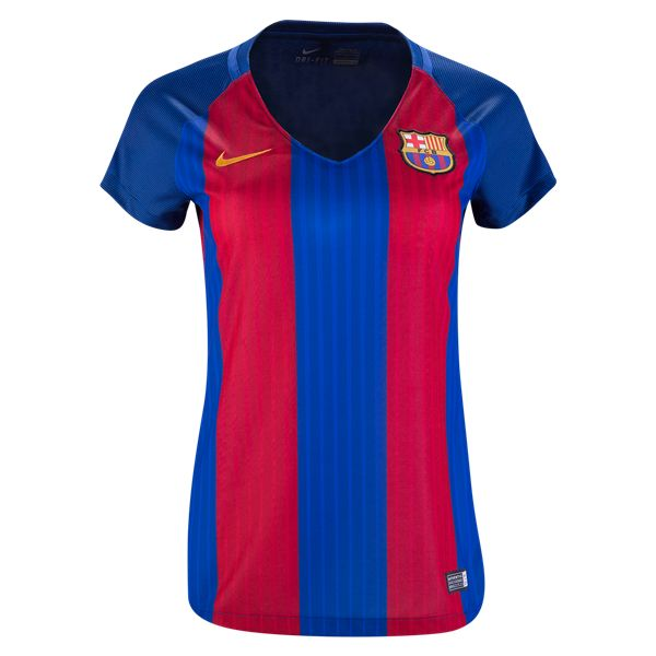 0021fdace ... Barcelona 1617 Womens Home Soccer Jersey ☆ Get Match Ready for the 2016  ...