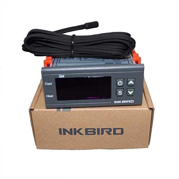 Inkbird 110V Temperature Controller 1 Relay 1 Alarm Output