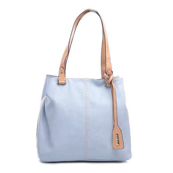 TORBA TYPU TOTE BAG 3416-4PA.BL /L31 - odcienie niebieskiego > CzasNaButy.pl > buty i torebki