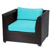 Found it at AllModern - Barbados Club Chair with Cushions