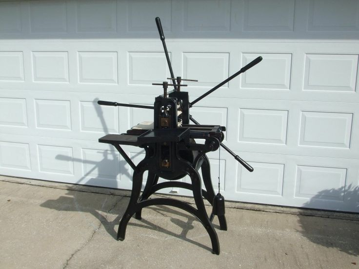 "Antique Kelton Intaglio Press ""Spider"" Press Etching Press Good Condition | eBay"