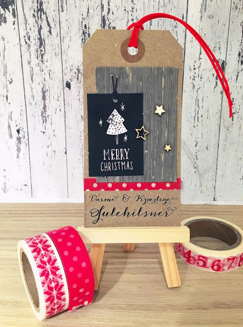 Christmas tag for Kreativ Scrapping