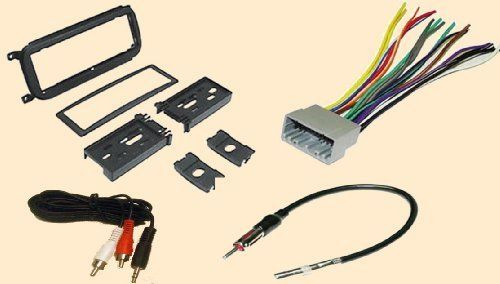 radio stereo install dash kit wire harness antenna. Black Bedroom Furniture Sets. Home Design Ideas