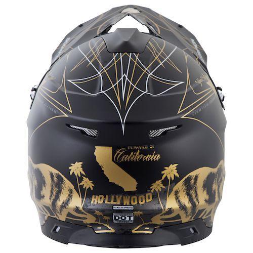 Scorpion VX-35 GOLDEN STATE (BLK MAT) DOT+ECE *Snow Compatible*