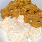 beer cheese pretzel dip- I make this using ranch dressing instead of a pack of ranch.