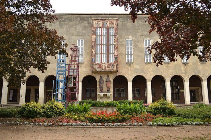 Csók István Képtár és Vörösmarty Mihály Megyei Könyvtár, Székesfehérvár, Hungary