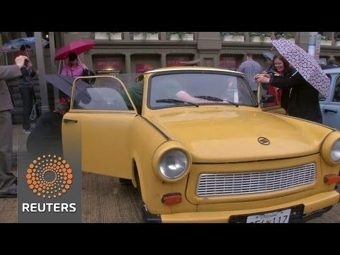 Owners of iconic East German car rally in U.S.