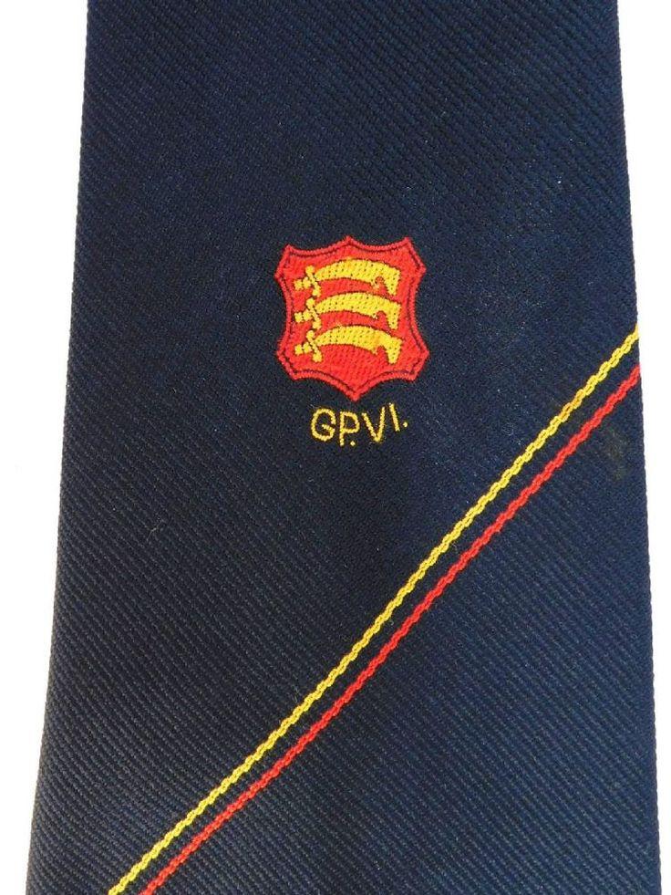 GP VI vintage tie 3 seaxes Essex English county Fortune