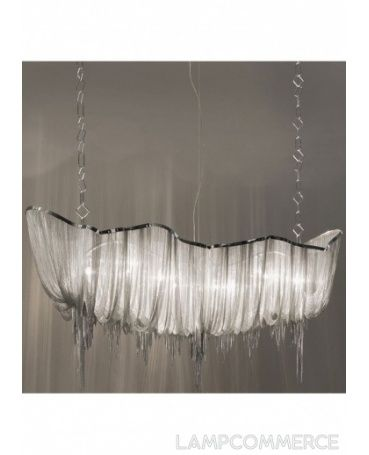 #Terzani #Atlantis horizontal hanging lamp Design Barlas Baylar