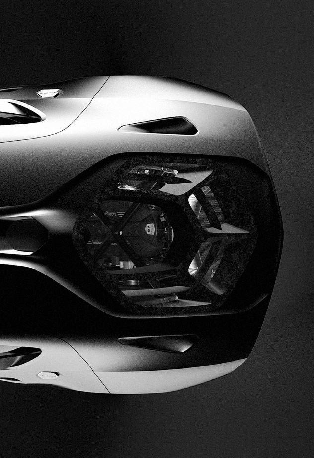 2014 | Lamborghini Asterion  Concept | Design Development: Exterior Render| Design by   Alessandro Salvagnin (Lamborghini Design Team) | Source: CDN