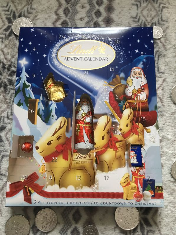 Lindt chocolate advent calendar