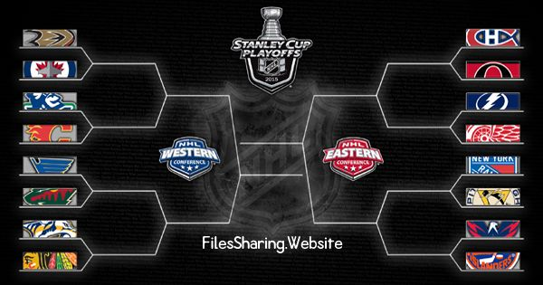 2015 NHL Stanley Cup Playoffs Bracket #NHL   #StanleyCup   #Playoffs   #bracket #hockey