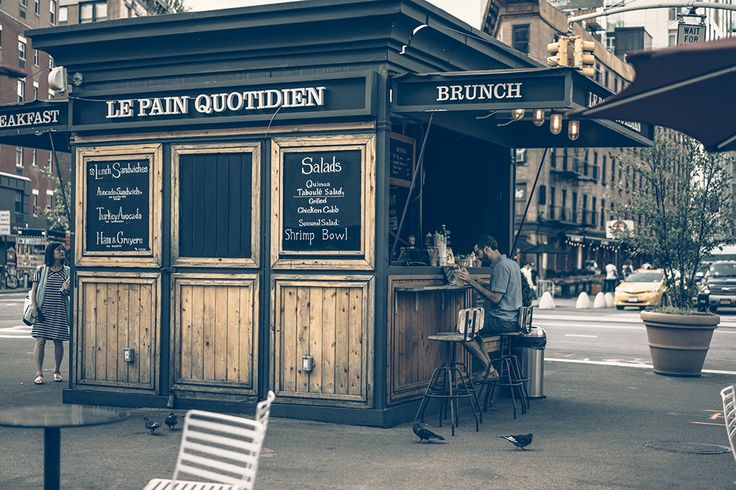 Le Pain Quotidien, Meatpacking District, New York.