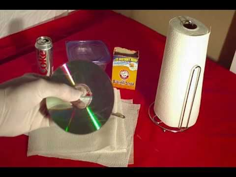 how to remove scatches from cds